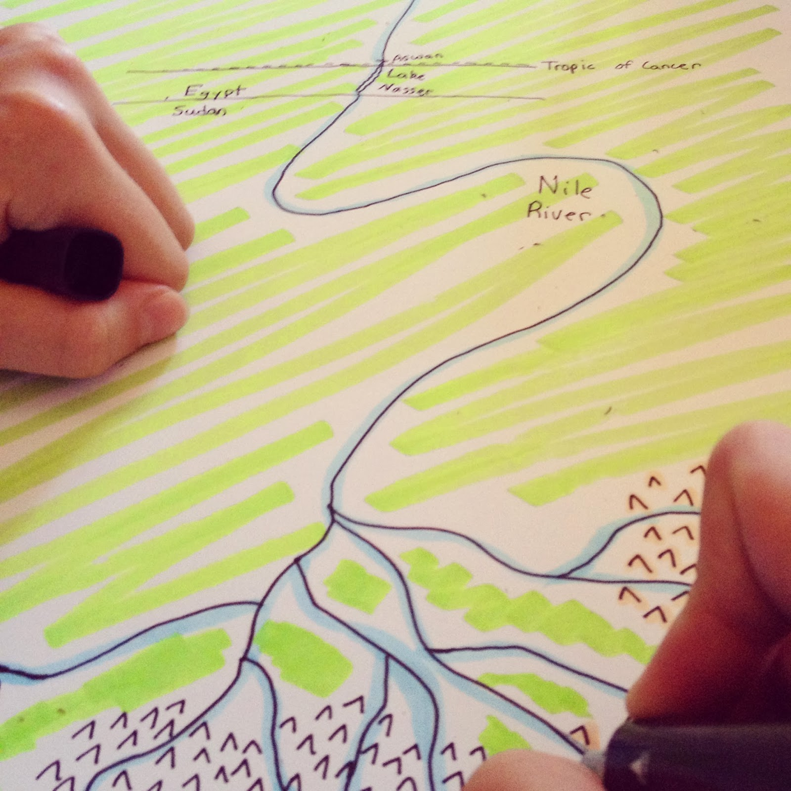 teachable moments mapping the world with art