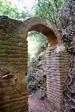 Detall del arc de l'aqüeducte de Sant Miquel Xic