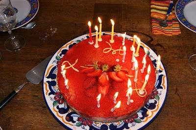 cheesecake fraise citron