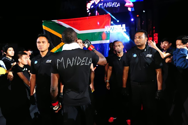 MMA fighter Colossa pays tribute to Nelson Mandela in ONE FC 13