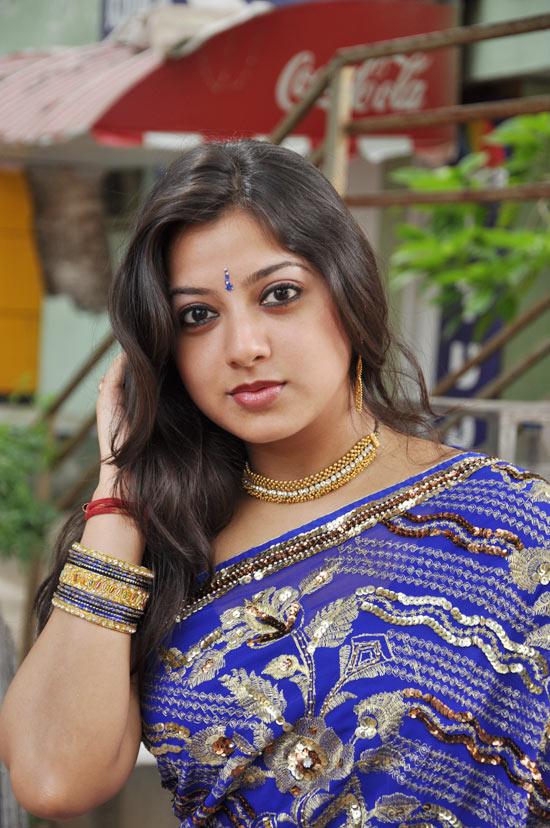 Keerthi Chawala Saree Stills