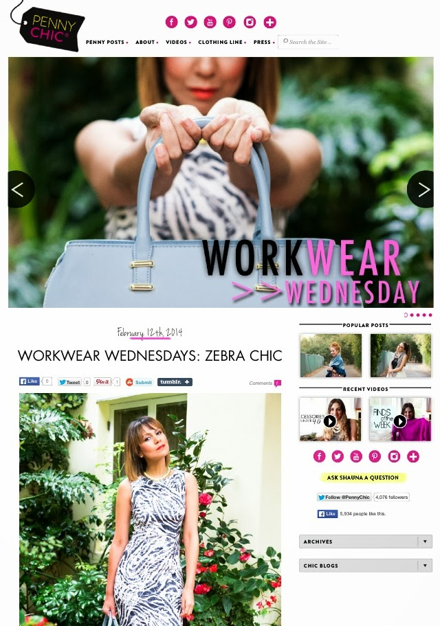 work wear, under $100 dollars, Penny Chic, Shauna Miller, Taye Hansberry, Zebra print, H and M, Shoe Dazzle, Blogger, Black Blog, Black Fahsion Blog, Fashion blog, high low