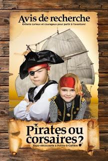 Pirates ou corsaires ? pour filles, garçons, groupes scolaires, familles