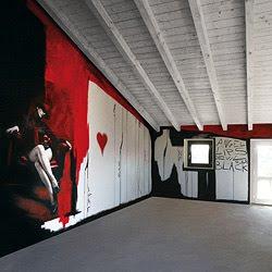 In foto qui a lato pareti dipinte , un esempio di decorazione pareti a ...