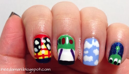 disney pixar toy story nails
