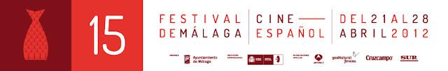 Imagen del Festival de Málaga 2012. Logotipo