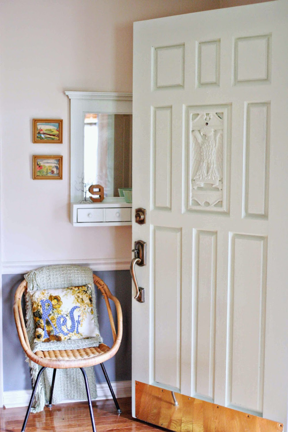 mint green front door - craftivity designs