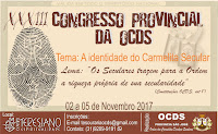 XXXIII CONGRESSO PROVINCIAL DA OCDS