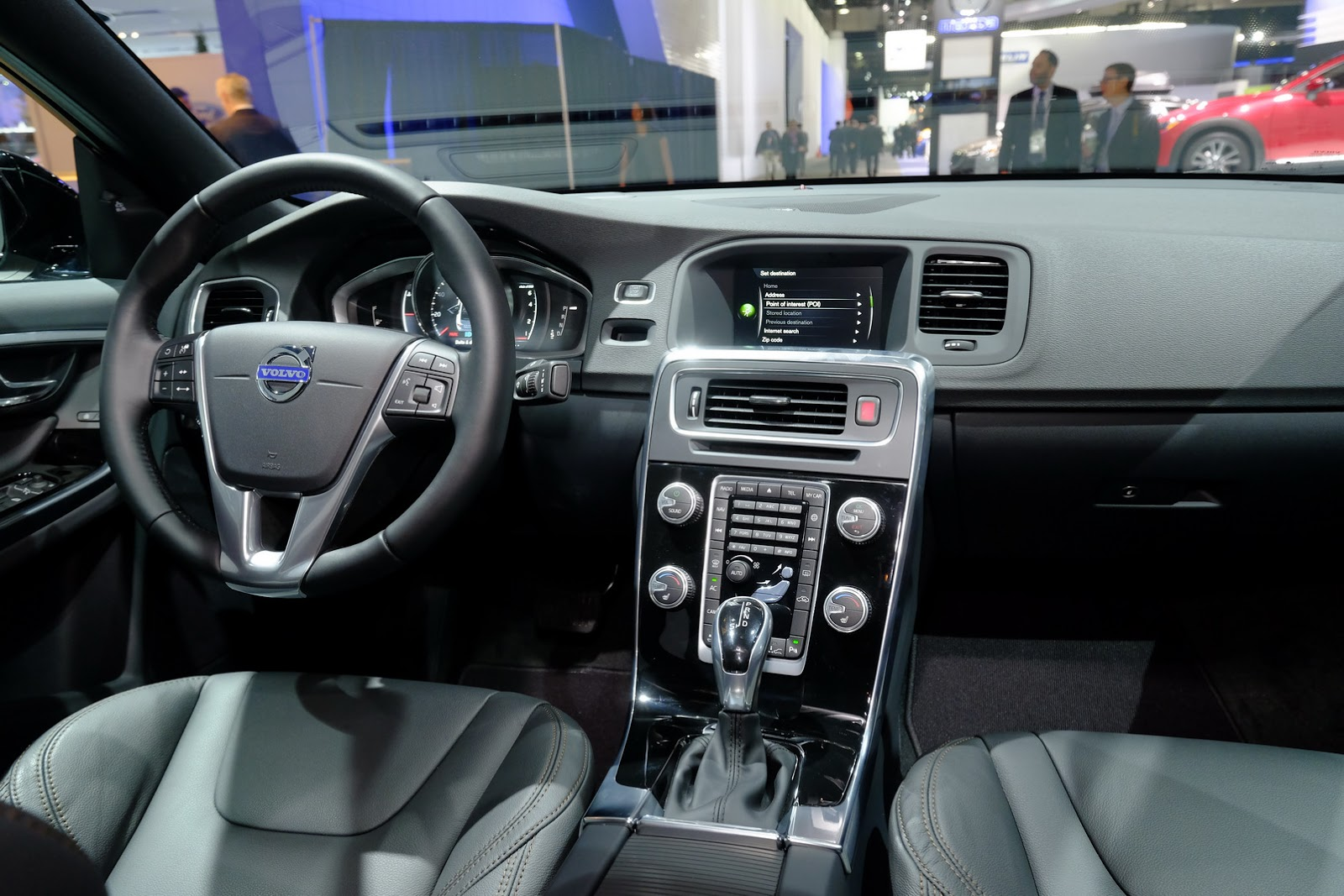 Volvo Takes S60 Sedan For Cross Country In Detroit Carscoops