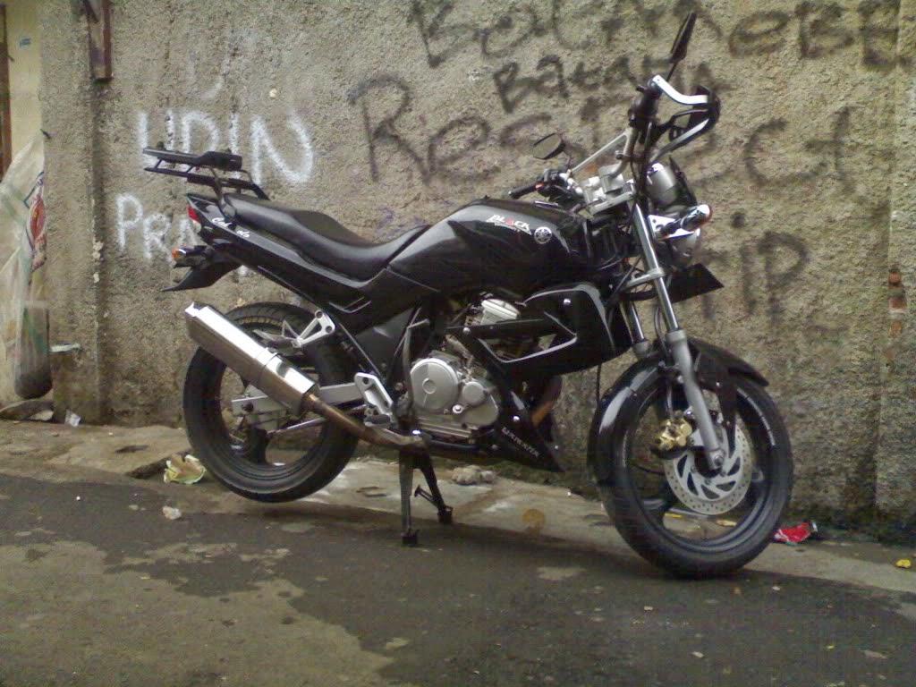 modifikasi motor yahama scorpio z 2007