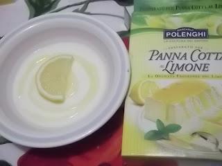 panna cotta al limone polenghi con topper al limone