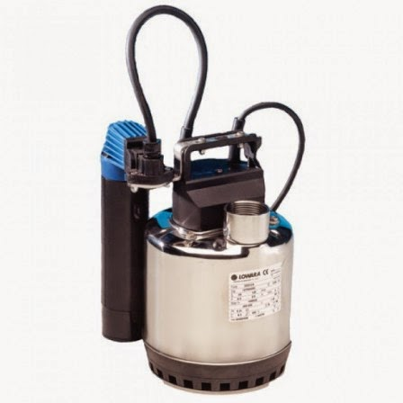 Acquagarden elettropompa lowara sommergibile doc 3 for Pompa laghetto esterna