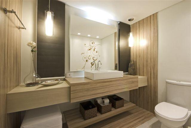 decoracao lavabo branco:Iluminacao De Banheiro