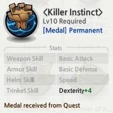 Medal Lost Saga