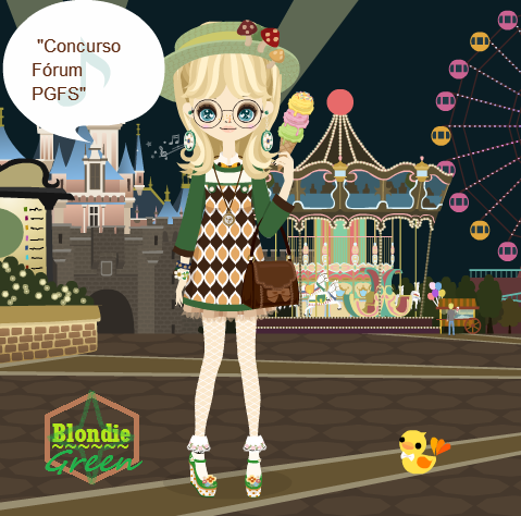 .: Desafio de Agosto / August's Challenge :. Blondie-Green