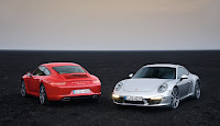 2012 All New style shape Porsche 911 991 not 998 Model Official picture Carrera S basic simple Coupe
