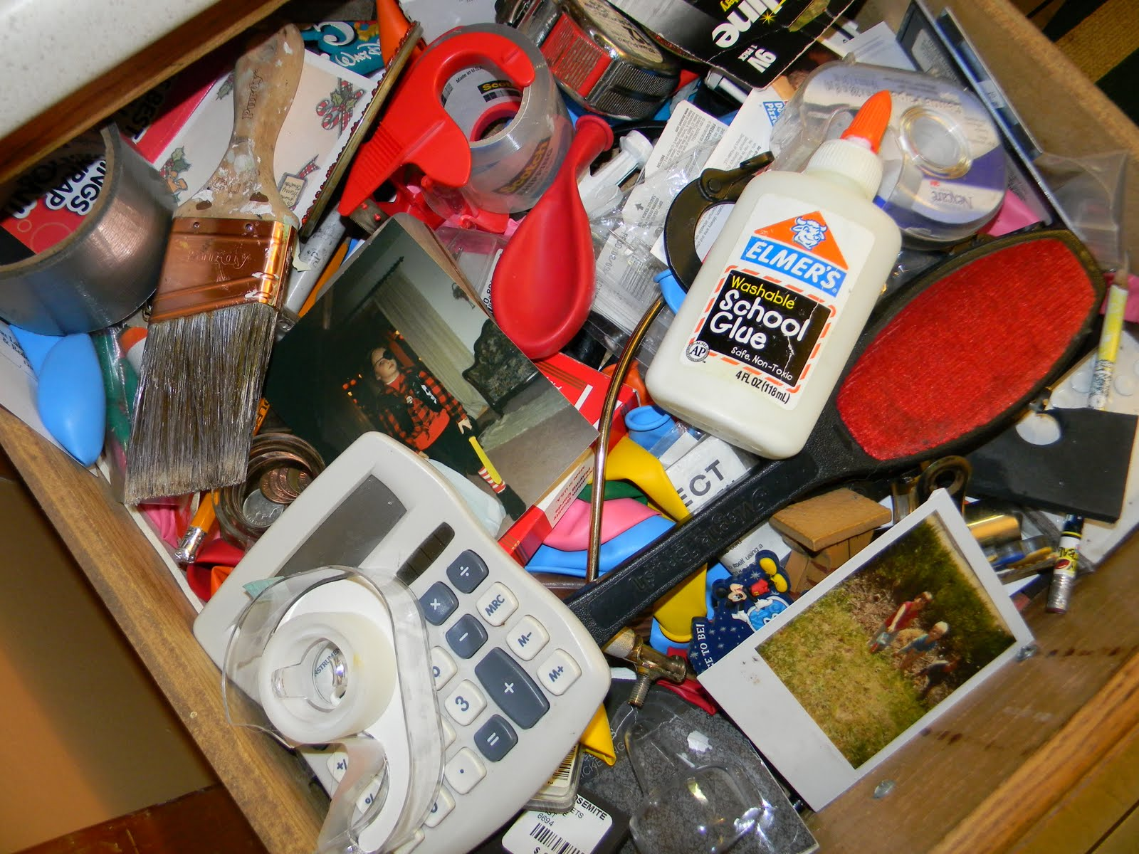 It s all good funky junk junk drawer for Kitchen junk drawer