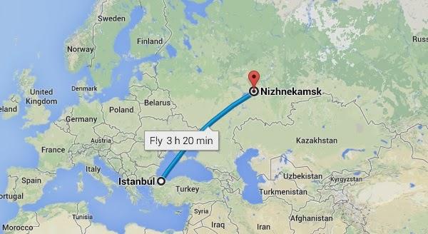 İstanbul'dan Tataristana Seyahat Etmek
