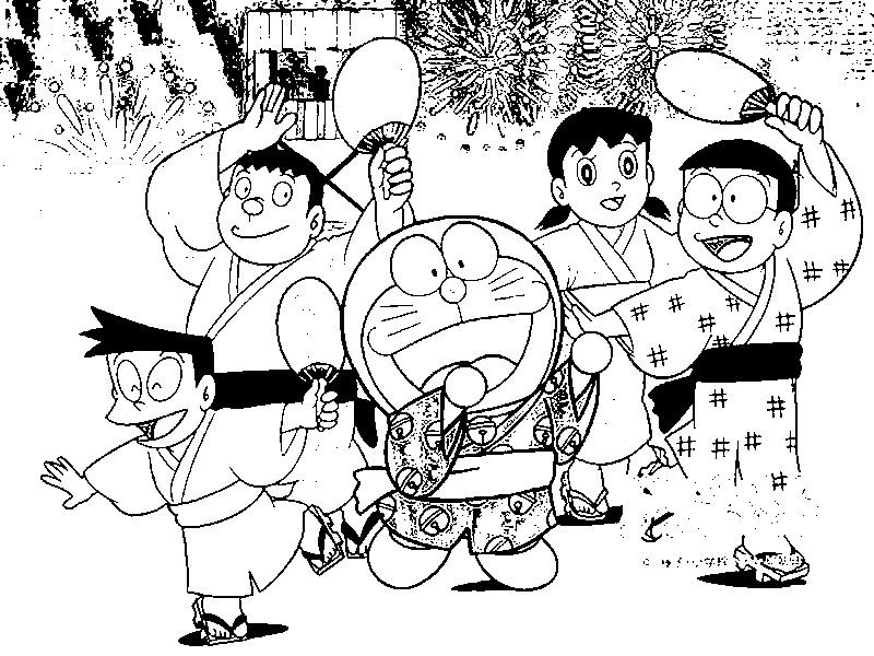 Blog de los ni os Doraemon para colorear
