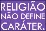 religião não define caráter