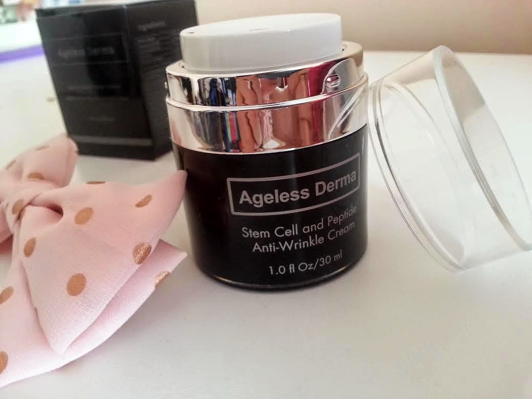 ageless derma stem cell, anti wrinkle cream, ageless derma, review, ageless derma review, giveaway, cream giveaway,