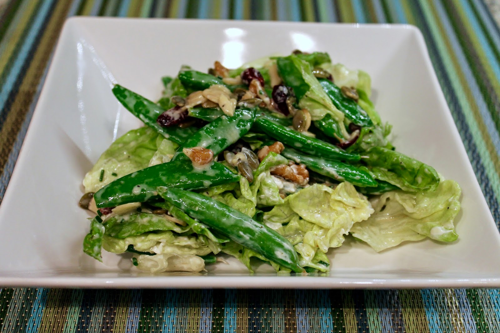 Cook In / Dine Out: Crunchy Sugar Snap Pea Salad