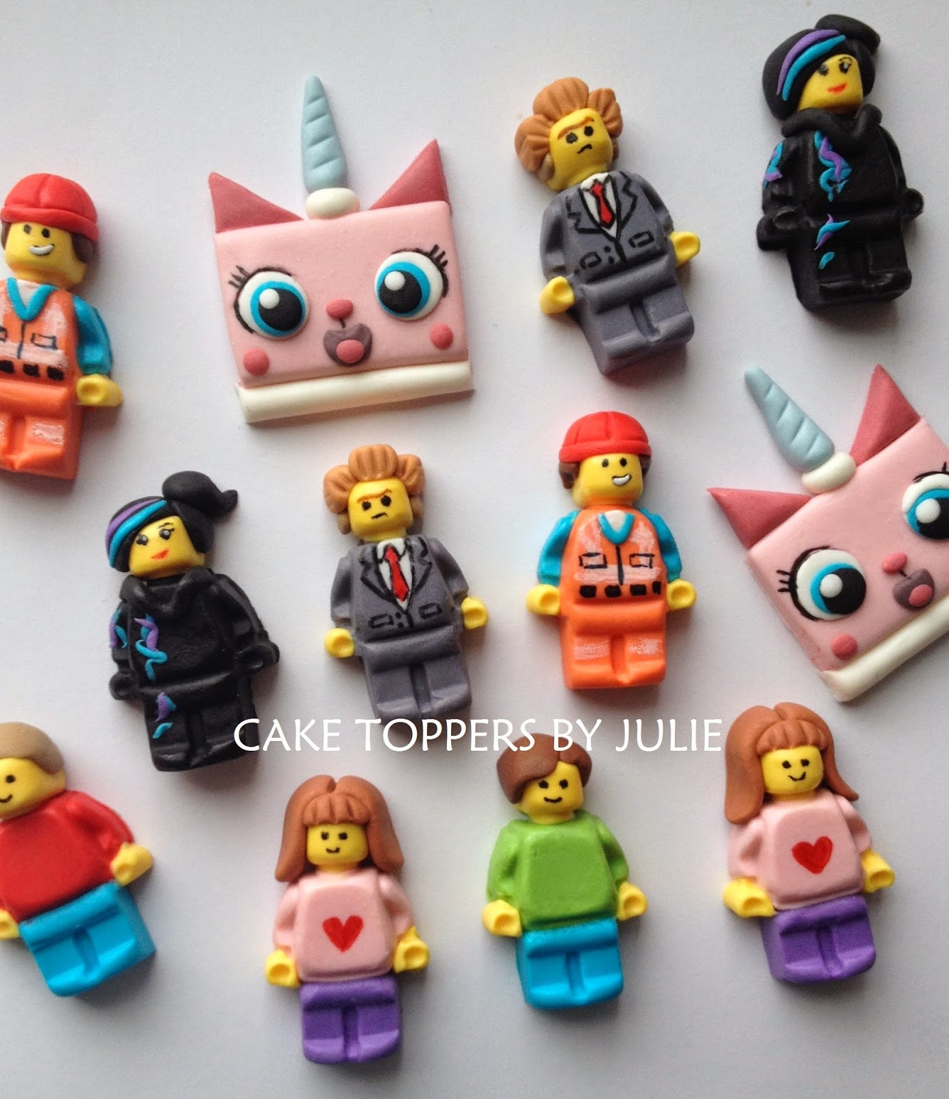 Gumpaste Cake Toppers