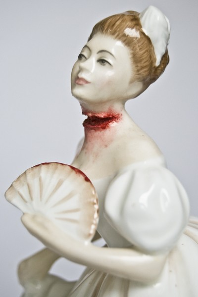 Jessica Harrison porcelain figurines: Mairi