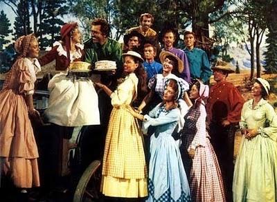 siete novias para siete hermanos 1954