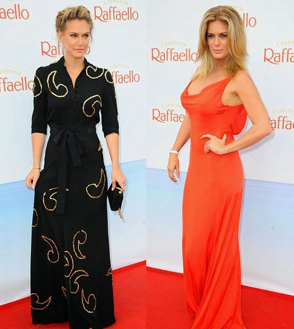 Bar Refaeli and Rachel Hunter showcased their stunning value as they came separately on the event of Berlin's Mitte district in Germany on Saturday, June 21, 2014.