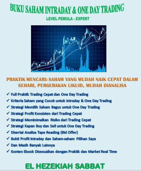 Ebook Intraday & One Day Trading Saham