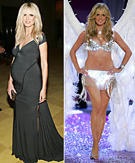 Heidi Klum Weight Loss Before and After