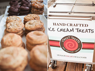Ice Cream Sandwiches from Street Treats - Posted by Kent Buttars, A Heavenly Ceremony