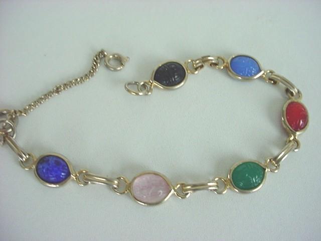 Scarab Bracelet Vintage4