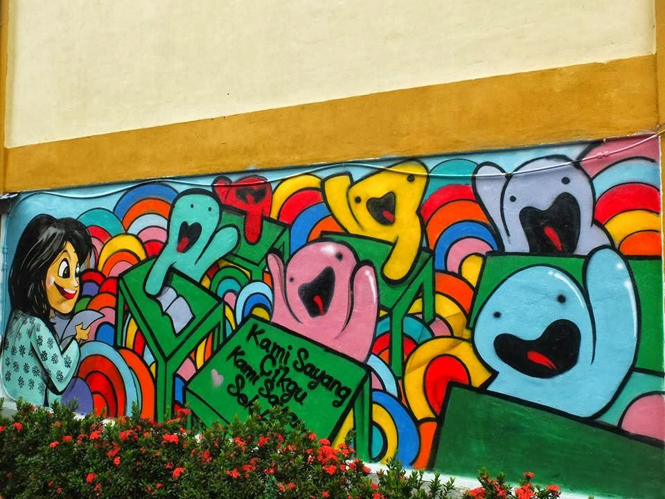 Tadaaa Kami Sayang Cikgu Graffiti Is Now Done