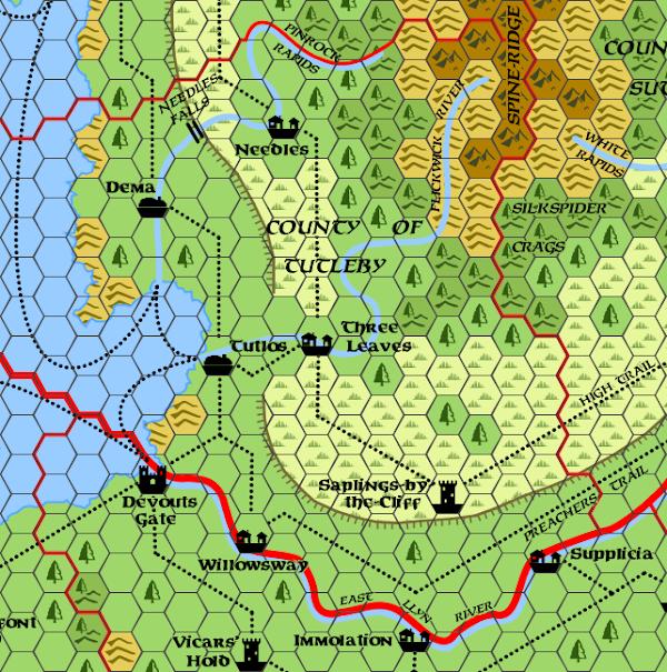 Mystara Alphatia Foresthome Map Tutleby