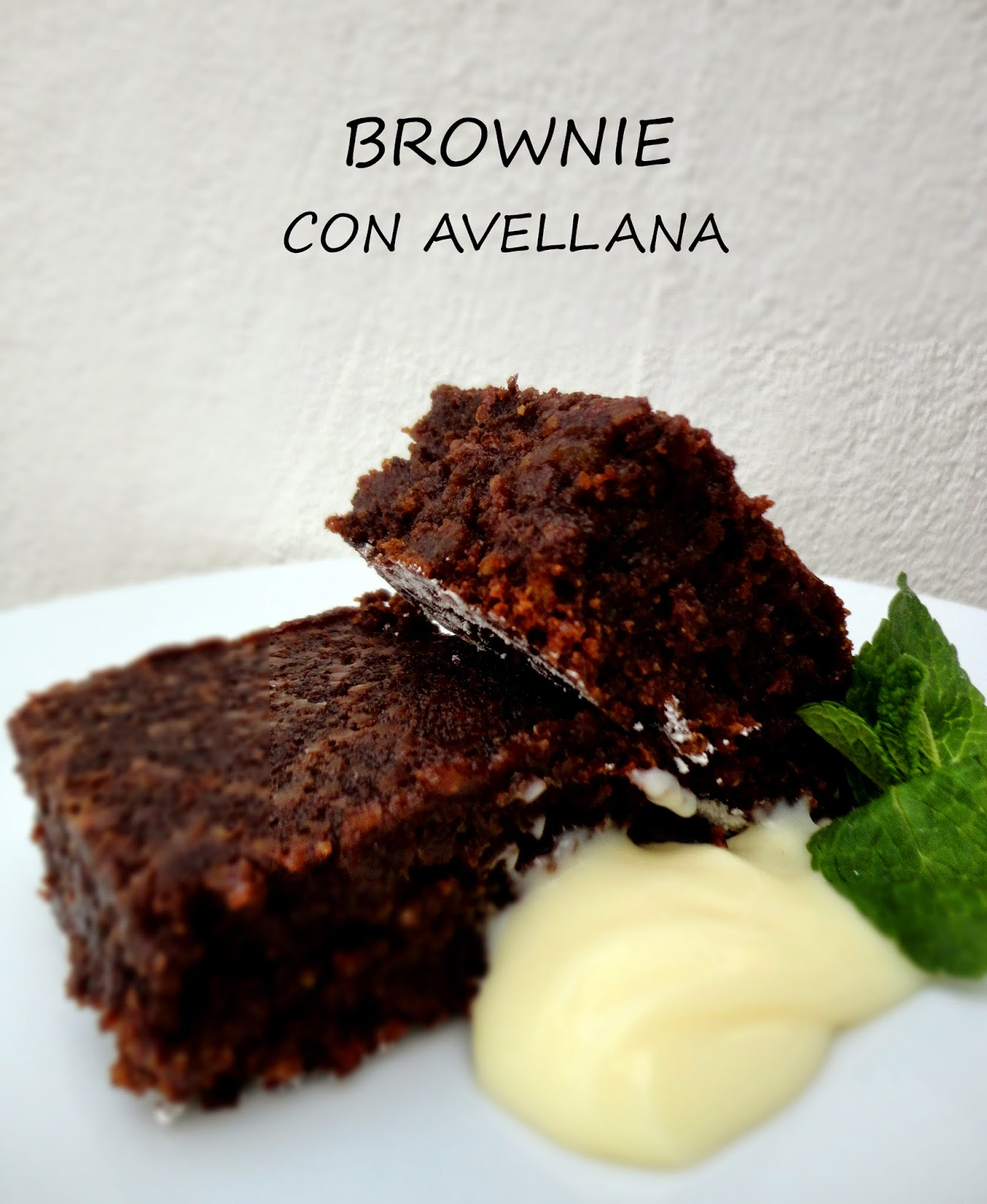 Brownie de Chocolate y Avellana (sin harina)