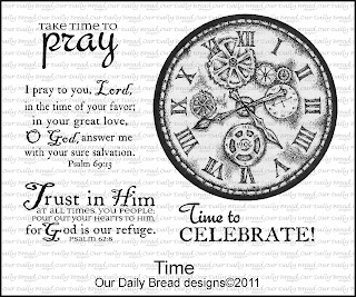 Our Daily Bread Designs, Time