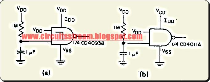 Simple Power On Reset Circuit Diagram