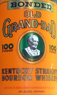 Old Grand Dad Whiskey features Basil Hayden on the label