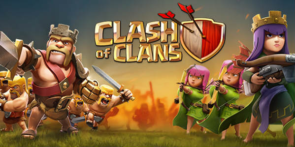 Clash of clan logog