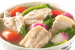 Pork Sinigang Filipino Food