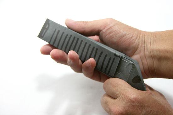 how to make a paper pistol gun