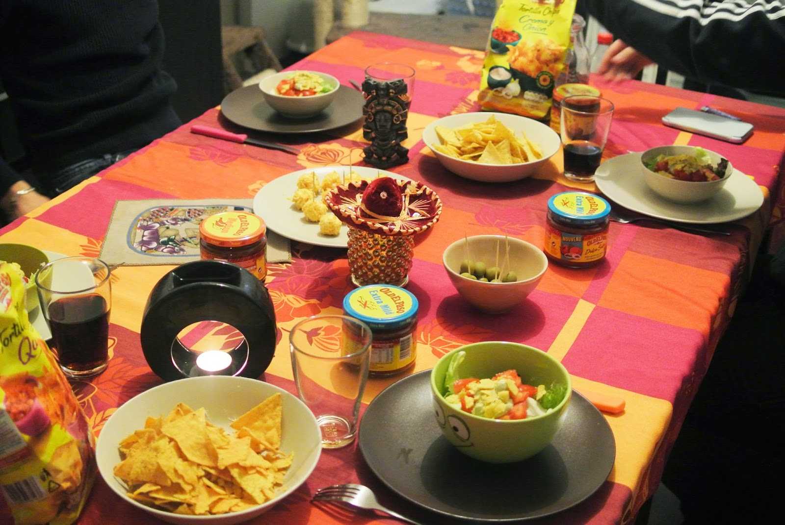 Beautyfood la f te des voisins continu avec old el paso for Diner simple entre amis