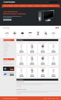 Download Template Website Kusus Toko Online Keren dan Respoinsive Mobile Friendly