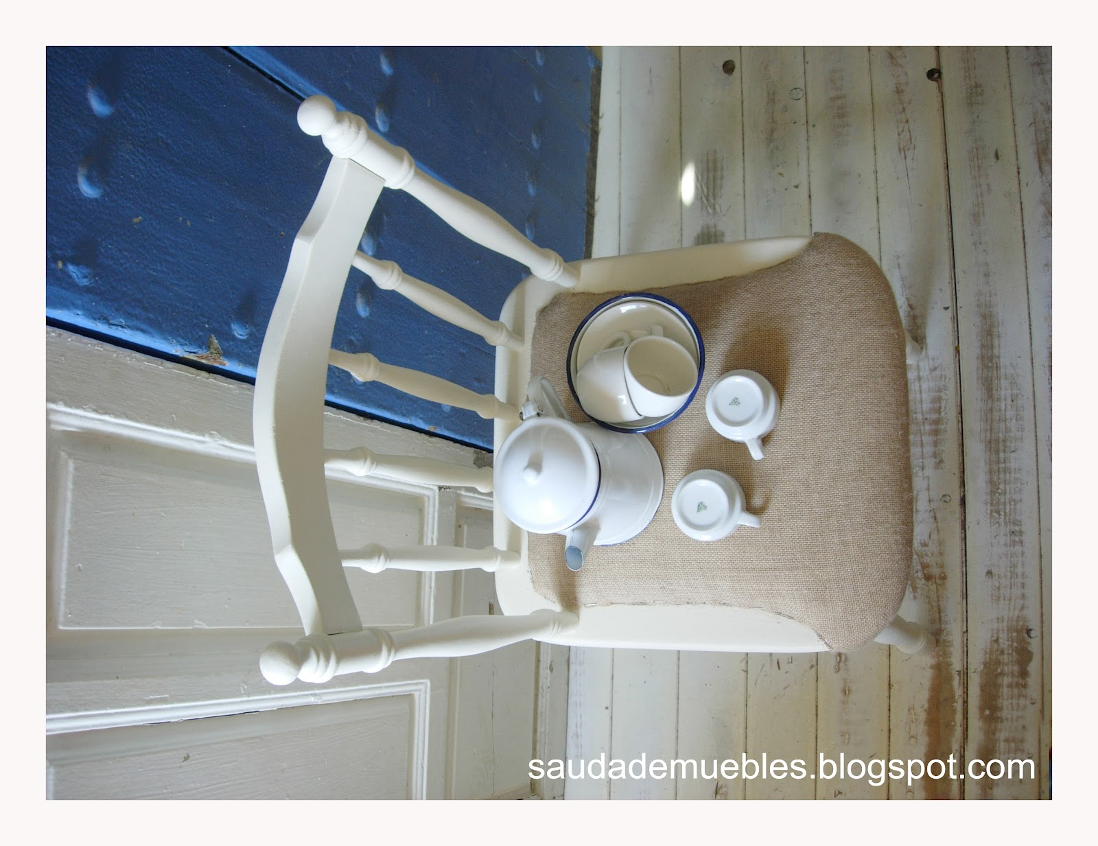 Saudade tapizar con tela de saco for Tapizar muebles con tela