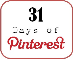 31 days of Pinterest