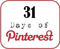 31 days of pinterest