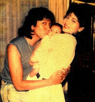 Ikang Fawzi, Marissa Haque, Isabella Fawzi Usia 4 Bulan, 1989