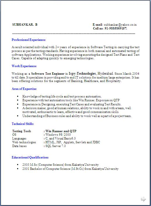 traditional 2 resume templates
